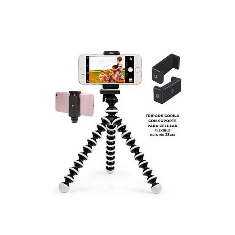 Tripode Celular con Soporte Flexible 23CM – TR1